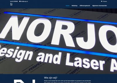 Norjo - design and laserart