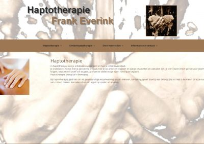 Haptotherapie Frank Everink