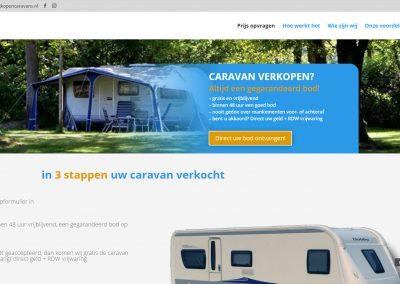 Wij kopen caravans